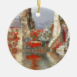 Provence Scenery Christmas Ornament