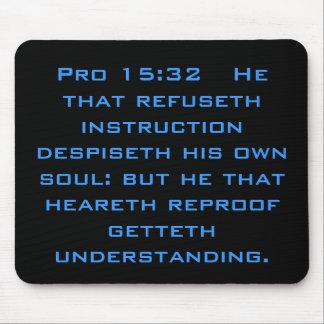 Proverb Mousepad