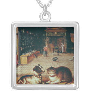 Proverb Silver Plated Necklace