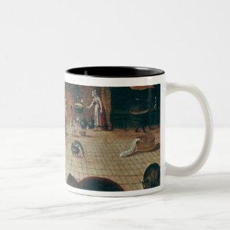 Proverb Two-Tone Coffee Mug