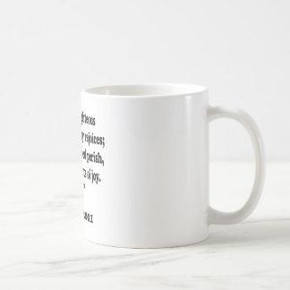 proverbs 11 basic white mug
