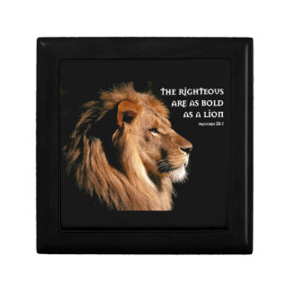 Proverbs 28:1 gift boxes