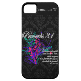 Proverbs 31 Bible Christian Women's iPhone 5 Cover