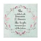 Proverbs 31 Bible Verse Canvas Print