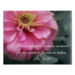 Proverbs 31 Collection~ Pro 31:10 Posters