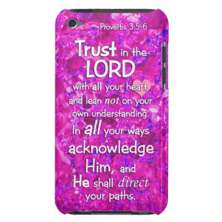 Proverbs 3:5-6 Trust in the Lord Bible Verse Quote Barely There iPod Covers