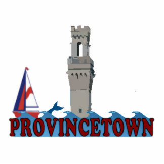 PROVICETOWN STANDING PHOTO SCULPTURE