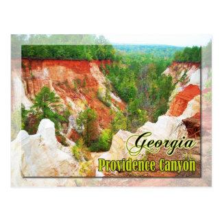 Providence Canyon State Park, Georgia Postcard