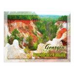 Providence Canyon State Park, Georgia Postcards