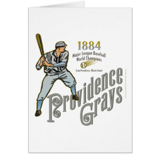 Providence Grays Card