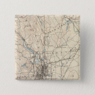 Providence, Massachusetts 15 Cm Square Badge