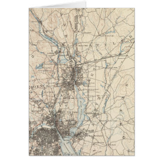 Providence, Massachusetts Greeting Card