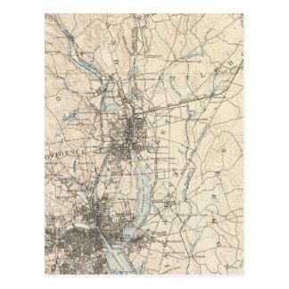 Providence, Massachusetts Postcard