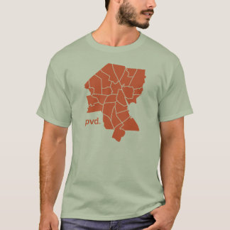Providence Neighborhoods T-shirt