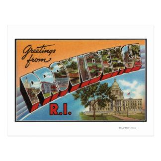 Providence, Rhode Island (Capital Building) Postcard