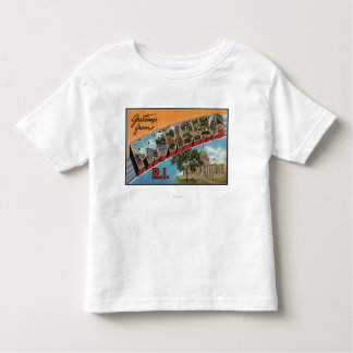 Providence, Rhode Island (Capital Building) Toddler T-Shirt