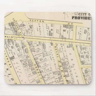 Providence Rhode Island Map 2 Mouse Mat
