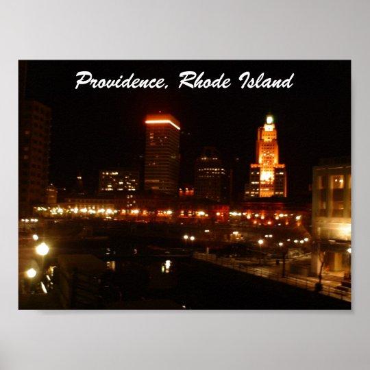 Providence, Rhode Island Poster