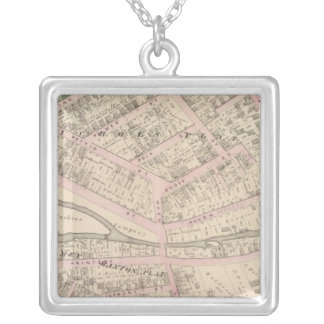 Providence Rhode Island Silver Plated Necklace