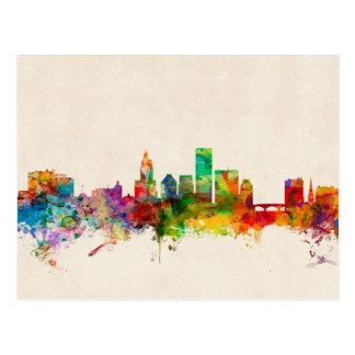 Providence Rhode Island Skyline Cityscape Postcard