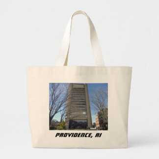 Providence, RI Skyscraper - Thayer Street Jumbo Tote Bag