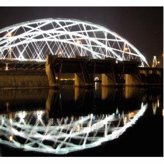 Providence River Bridge Standing Photo Sculpture