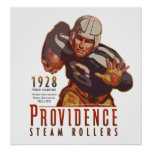 Providence Steam Rollers Poster