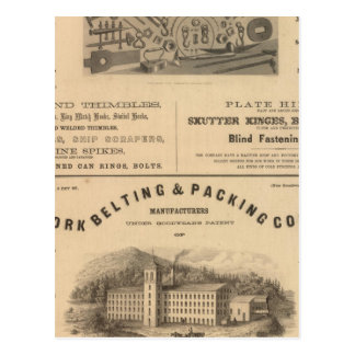 Providence Tool and Forge and Nut Company Postcard