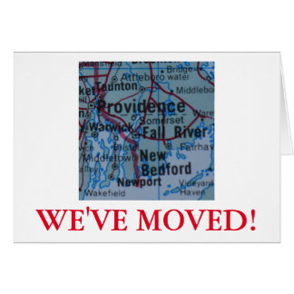 Providence We've Moved address announcement