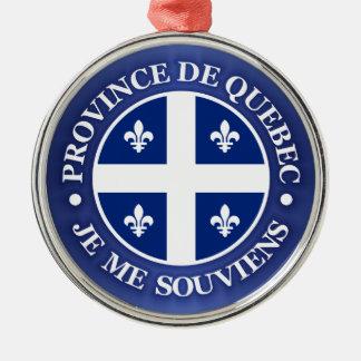 Province de Quebec Christmas Ornament