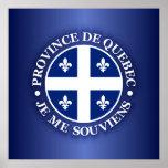Province de Quebec Poster
