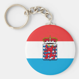 Province Of Luxembourg, Belgium flag Key Ring