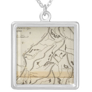 Province of Maine 2 Silver Plated Necklace