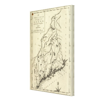 Province of Maine Canvas Print
