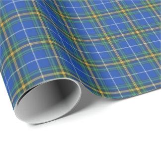Province of Nova Scotia Canada Tartan Wrapping Paper