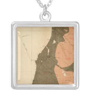 Province of Nova Scotia Island of Cape Breton 12 Silver Plated Necklace