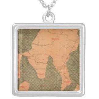 Province of Nova Scotia Island of Cape Breton 13 Silver Plated Necklace