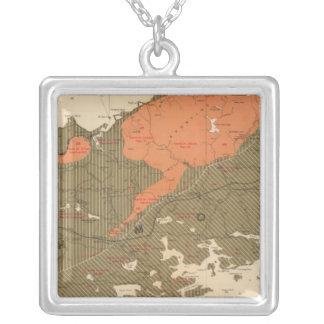 Province of Nova Scotia Island of Cape Breton 3 Silver Plated Necklace