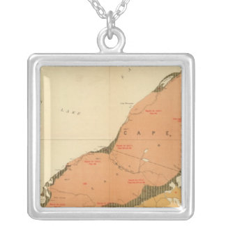 Province of Nova Scotia Island of Cape Breton 9 Silver Plated Necklace