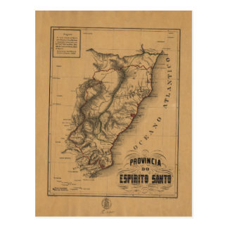 Province of the Espirito Santo (1873) Postcard