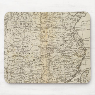Provinces of China Mouse Mat