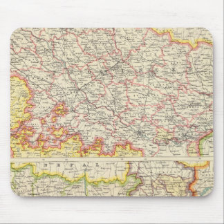 Provinces of the Lower Ganges Mouse Mat