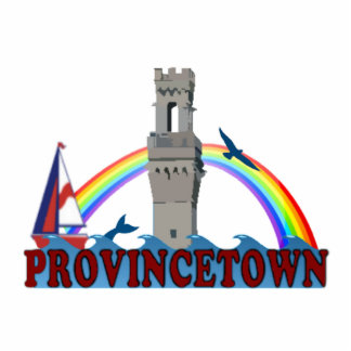 Provincetown. Acrylic Cut Outs