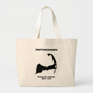 Provincetown - Fisting the Atlantic since 1727 Large Tote Bag