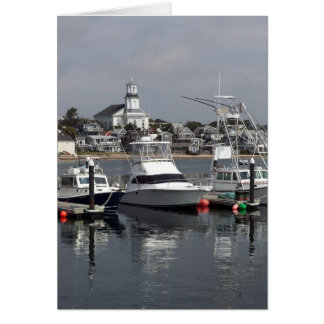 Provincetown from Fishermans Wharf Card