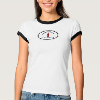 Provincetown Oval Design. T-Shirt