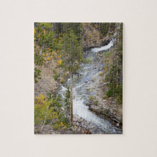 Provo River and aspen trees 14 Jigsaw Puzzle
