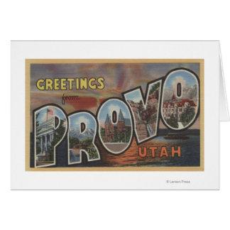 Provo, UtahLarge Letter ScenesProvo, UT 2 Card