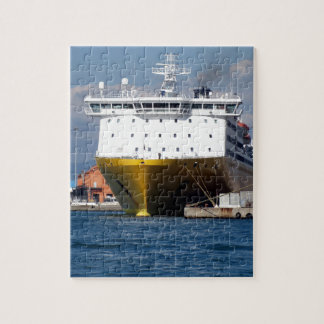 Prow view italian ferry puzzle