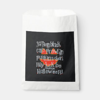 Prowl And Gleam Halloween Favor Bags Favour Bags